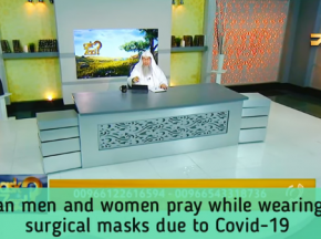Can Men & Women pray while wearing Masks due to Covid-19?