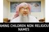 Naming children with Non Religious names