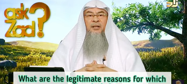 What are the legitimate reasons for which  one can break their prayer