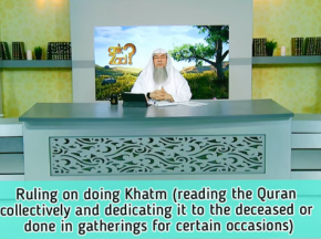 Khatam (Reading Quran collectively & dedicating reward for deceased or on some events)