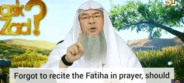 Forgot to recite Fateha, Should I pray an extra rakah (Behind imam or Praying alone)