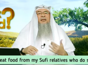 Can I eat food (meat) from my Sufi relatives who do shirk?