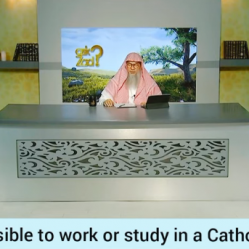 Is it permissible to study or work in a Catholic School?