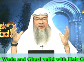 Is my Wudu and Ghusl valid if I apply Hair Gel?