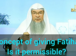 Is it permissible to give Fatiha on food?