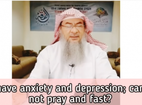 I have anxiety & depression, can I not pray and fast?