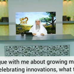 I follow the Salaf, My parents argue about my beard & not celebrating innovations