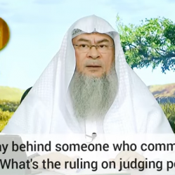 Praying behind an Imam who does Shirk, gives Taweez etc? Ruling on Judging people