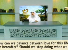 How to balance between love for life & hereafter? Should we stop doing what we love?