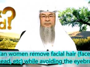 Can women remove facial hair (face, forehead etc) while avoiding the eyebrows?