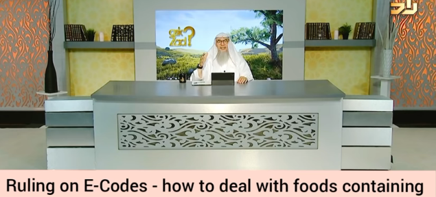 How to deal with food containing pork, haram animals derived substances?
