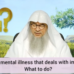 Have a mental illness regarding impurities, what to do?