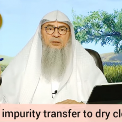 Can dry impurity transfer to dry clothes or dry objects?