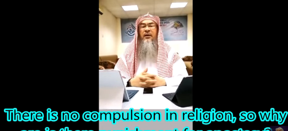 There is no compulsion in religion so why is there a punishment for apostasy?