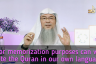 Can we write Quran in our own language (Transliteration)?