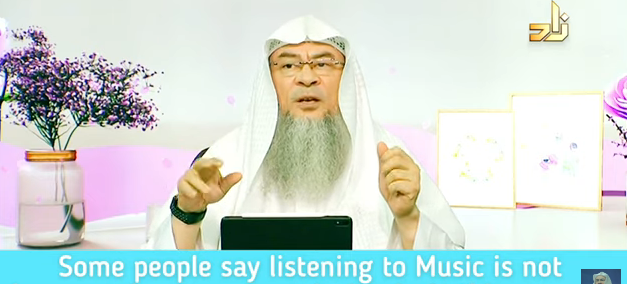 Some people say listening to music is not Haram unless you're enjoying it, is it true