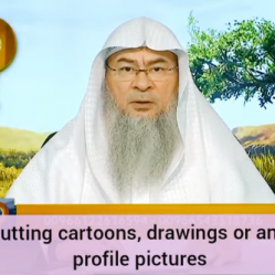 Ruling on putting Cartoons, Drawings or Anime etc as profile pictures