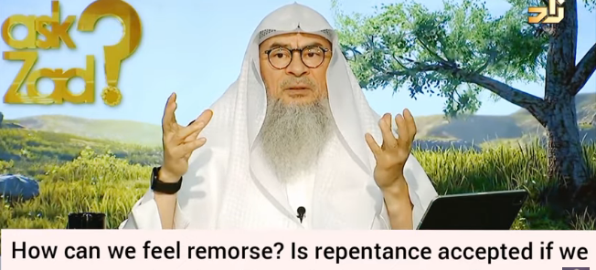 How to feel remorse (regret)? Is repentance accepted if we stop sin without remorse?