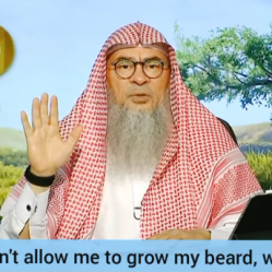 Parents don't allow him to grow the beard or her to wear the hijab, what to do?