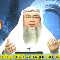 Is not wearing the hijab a Major sin?