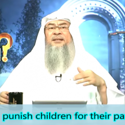 Does Allah punish children for their parents deeds?