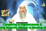 Competing in Righteousness & having Sincerity (Ikhlas) Vs Showing off