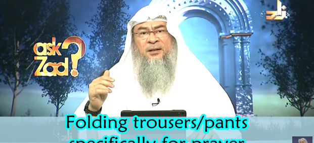 Folding Pants / Trousers specifically for Prayers