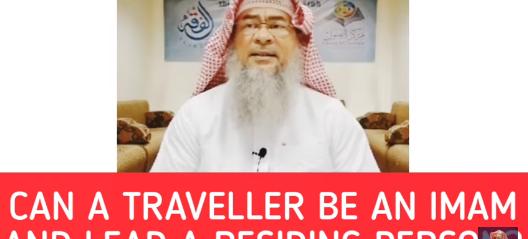 Can a traveler be an Imam for residents & Must traveler pray full behind resident Imam
