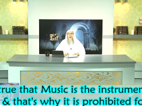 Is it true that music is the instrument of Satan & that's why it's prohibited for us