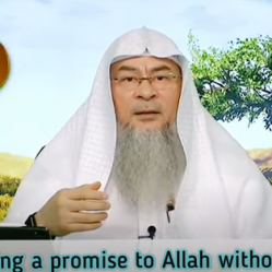 Does making a promise to Allah without vowing, require kaffara if broken?  what If say In sha Allah?