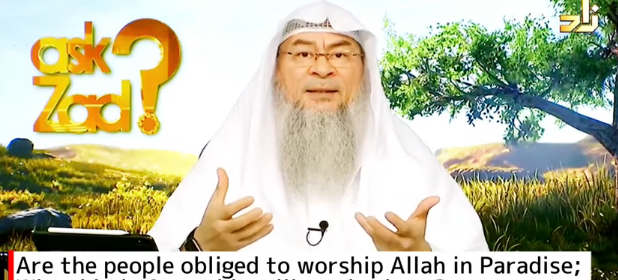 Are people obliged to worship Allah in Paradise, What kind of worship will we do there?