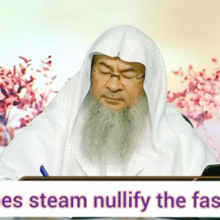 Does inhaling steam nullify your fast?