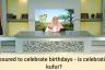 Is celebrating birthdays kufr?