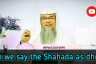 Can we say the Shahada (la ilaha illa Allah Muhammadur Rasool Allah) as Dhikr?