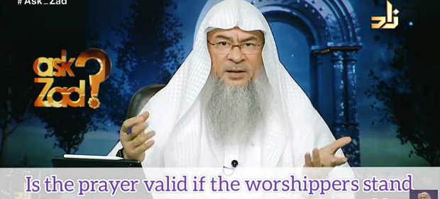 Is prayer valid if the followers stand to the side of the imam instead of behind him