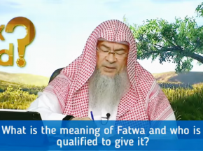 What is the meaning of Fatwa and Who is qualified to give Fatwa?