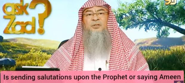 Sending salutations on Prophet & saying Ameen during Friday khutbah