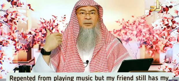 Repented from playing music