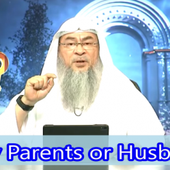 After getting married should a woman obey her parents or her husband?