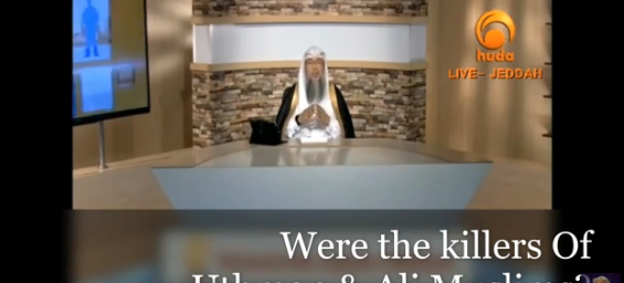 Were the killers of Uthman and Ali Muslims?