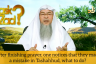 After finishing prayer, one notices they made a mistake in tashahhud, what to do?