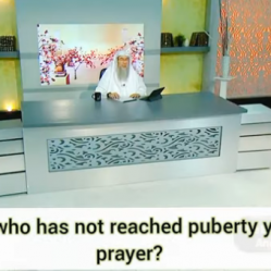 Can a girl who has not reached puberty yet lead in prayer / salah?