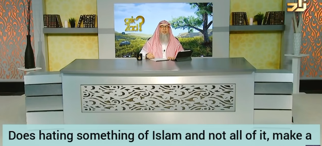 Does hating something of Islam make me an apostate (hating hijab, waking up for fajr?