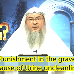 Punishment in Grave due to Urine Splashes on body or clothes & Raising a Dog at home