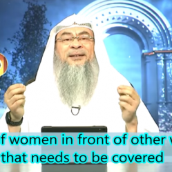 Awrah of Women in front of other Women that needs to be covered