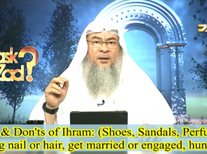 Do's & Don'ts of Ihram Shoes, Sandals, Perfumes, Cutting nails hair, hunt, getting Engaged, Married