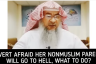 Revert afraid her non muslim parents will go to hell, what to do?