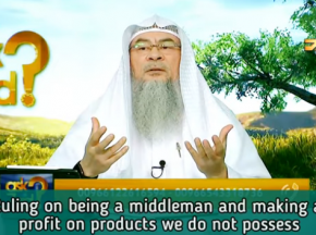 Ruling on being an Agent / Middlemen & making profit on products you don't possess