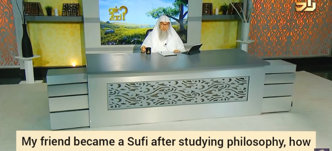 My friend became a sufi after studying philosophy, how can I advise him?
