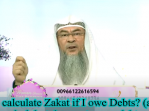 How to calculate Zakat if I owe debts?Amount is above nisab but doesn't cover debt amount